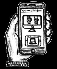 responsive-website-ecommerce-iphone-icon