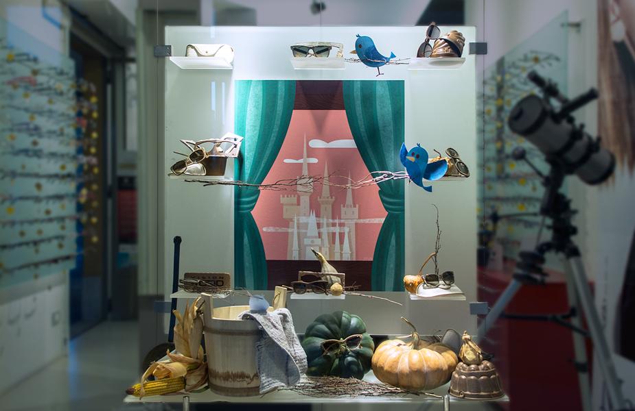 cinderella-shop-window-design-illustration-pecorazoppa